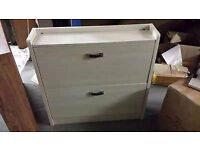 2 tier shoe cabinet brand new