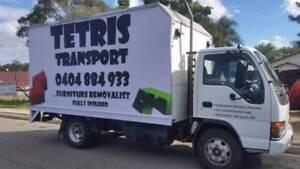 TETRIS Transport Furniture Removalist Truck Removals Hire Holland Park Brisbane South West Preview