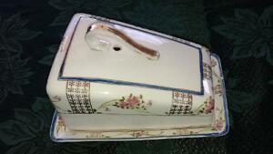 Antique butter dish Cornwall Ontario image 1