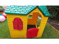 Lovely Little Tikes Garden Cottage Playhouse kis girl boy toy toys