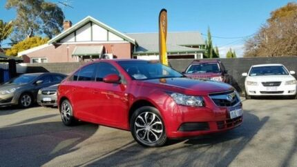 2010 Holden Cruze JG CD Red 5 Speed Manual Sedan