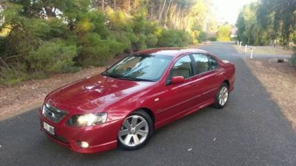 2006 FORD BF MKII FAIRMONT GHIA 6 SPEED AUTO WITH REGO