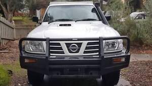 2004 Nissan Patrol Ute GU 4.2 Turbo Diesel Cab Chassis Ringwood Maroondah Area Preview
