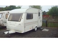 Silverline crest 2 berth caravan