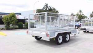 10x5 Tandem Axle with High cage and Spare wheel Coopers Plains Brisbane South West Preview