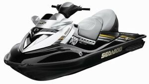2008 Seadoo rxt and trailer super low hours