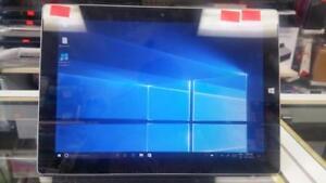 Microsoft Surface 3, Model 1645, Atom x7, 2 GB, 64 GB, Windows 10