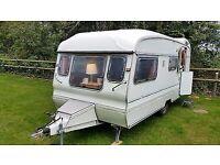 Classic avondale caravan