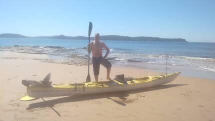 Horizon double sea kayak