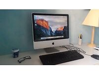 "WOW DEAL APLE IMAC CORE2DUO 4GB RAM 500GB HDD 21"" INSTALLED OS WARRANTY 3 MONTHS"
