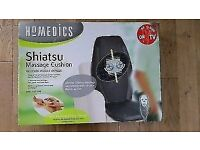 Brand new in box Homedics shiatsu massager chair