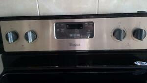 Whirlpool stainless steel freestanding electric stove