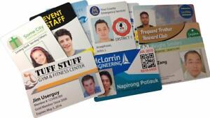 Employ ID Card printing as low as $0.10/ea.