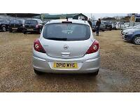 2010 Vauxhall Corsa 1.2i 16v ( 85ps ) ( a/c ) Exclusiv petrol manual