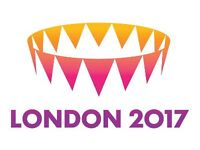 IAAF - Family Ticket (4 seated together) Wednesday 9th August - Mo Farah / Usian Bolt - Evening