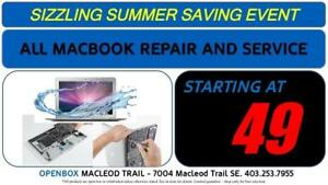 All MacBook, MacBook Pro related Repairs! Board Repair, Liquid Damage, No Power, WE CAN FIX ALL MAC ISSUES. Why Buy New?