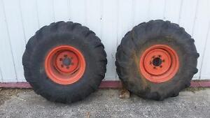 Kubota turf tire rims