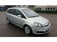 1.8L Vauxhall Zafira, LPG - very cheap to run, MOT April 2017, leather seats, 4 extra winter tyres