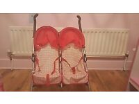 silver cross dolls twin pram