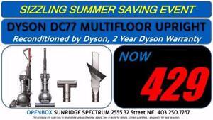 Dyson DC77 Multi Floor Upright Vacuum, 2 Year Dyson Warranty
