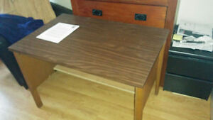 Sturdy small desk