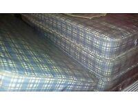 joblot of 10 single mattresses