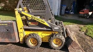 Ls 125 new Holland diesel skidsteer