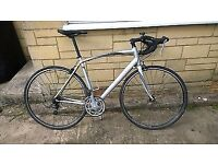 Specialized allez 56cm road bike with carbon forks men's bicycle medium frame used only £150 carrera