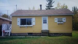 Cozy 2 bedroom bungalow in Tracy, N.B.