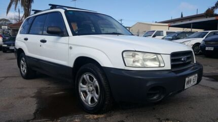 2003 Subaru Forester 79V MY03 X AWD White 5 Speed Manual Wagon Enfield Port Adelaide Area Preview
