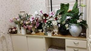 vases and fake flowers Underdale West Torrens Area Preview