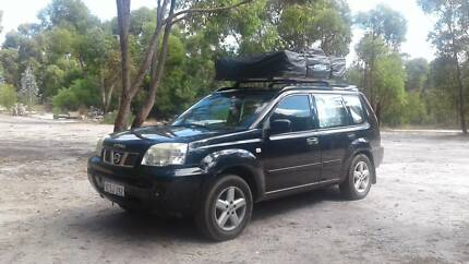 2006 Nissan X-trail 4WD c&er rooftop tent fully equipped & 2015 Nissan X-Trail T32 ST X-tronic 4WD White 7 Speed Constant ...