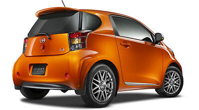 Spoiler For 2012-2013 Scion Iq-new, Oem-painted To Match Your Scion Iq