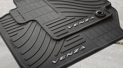 Toyota Venza 2013 - 2014 Rubber All Weather Floor Mat Set - OEM NEW!