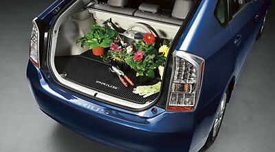 Toyota Prius 2010   2015 Black All Weather Rubber Cargo Trunk Mat   OEM NEW