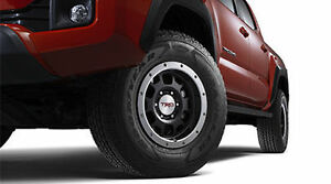GENUINE TOYOTA ACCESSORY TRD 16 in OFF-ROAD BEADLOCK WHEELS BLACK PTR18-35090