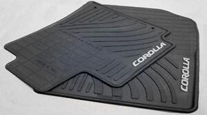 toyota corolla floor mats ebay. Black Bedroom Furniture Sets. Home Design Ideas
