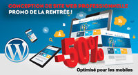 Conception site web - Site internet, PROMO -50%, Montréal