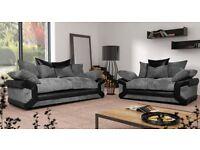 ** sheldon 3&2 sofas with free footstool * *