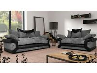 **sheldon 3&2 sofas with free footstool **