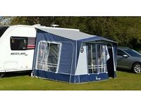 Isabella Magnum Awning - Blue with IXL Poles