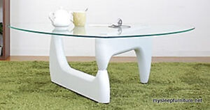 NOVE GLASS COFFEE TABLE- 3 COLORS- BRAND NEW