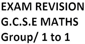 Special GCSE Maths Exam Revision with 100's of questions and past papers-Group or 1 to 1 Tuition
