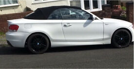BMW 120i m sport convertible 2011