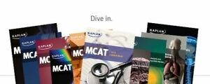 Kaplan MCAT Textbooks Full Set