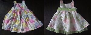 Infant Girl Easter Spring Dresses Size 18 Months