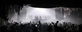 4 x Circo Loco Warehouse Project Manchester Tickets 19/11/16