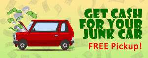TOP CA$H PAID FOR YOUR OLD/JUNK CAR!!!! $$$ 647-542-8575 $$$