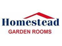 Homestead Garden Rooms, Sheds & Commercial Buildings
