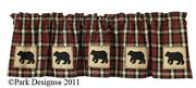 Black Bear Curtains